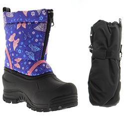 Northside Icicle Snow Boot, Purple/Pink, 7 M US Big Kid with