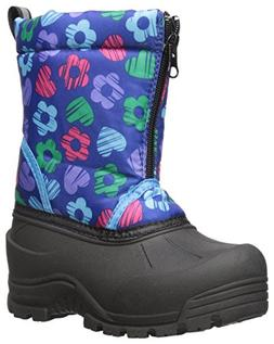 Northside Icicle Snow Boot , Navy/Multi, 8 M US Toddler