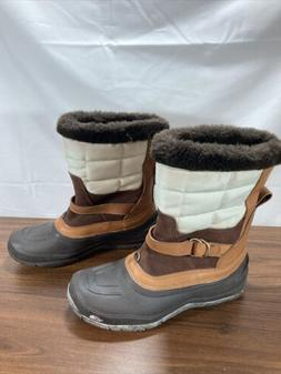 The NORTH FACE Insulated Brown/black/white Waterproof Winter