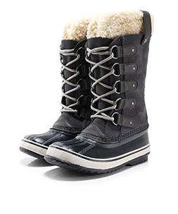 SOREL Women's Joan of Arctic Boot, Dark Grey Black, 8.5 M US