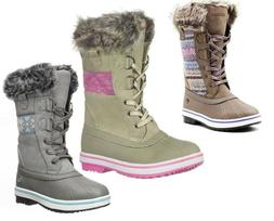 Northside Kids Girls NEW Bishop Jr Tall Winter Snow Boots In