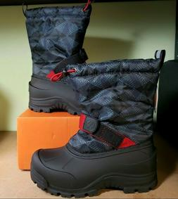 Kids Winter Boots Insulated Waterproof Northside Frosty Blac