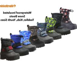 Kids Winter Boots Insulated Waterproof Northside Frosty Snow