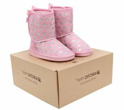 kids winter boots size toddler arctic paw