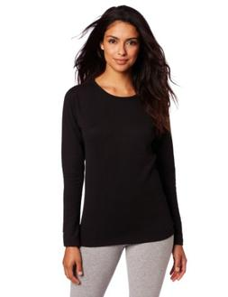 Hanes KMW3 Duofold Thermals Mid-Weight Womens Long-Sleeve Ba