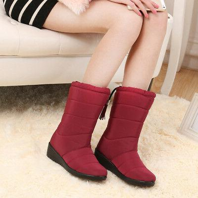 1 Pair Winter Thicken Solid Color