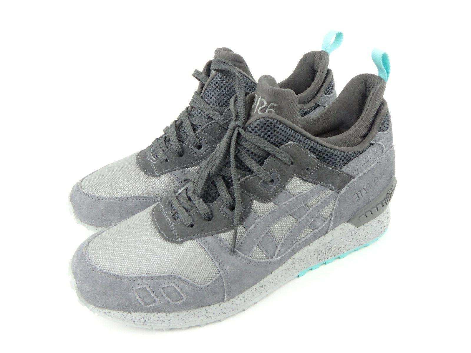 ASICS Tiger Grey Suede Shoes