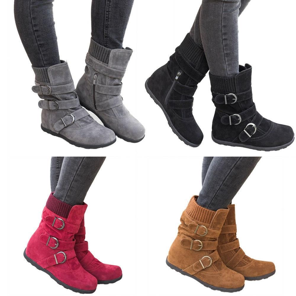 New Rock & Candy Winter Boots Women's 8.5 Danlea Mid-Calf Fa