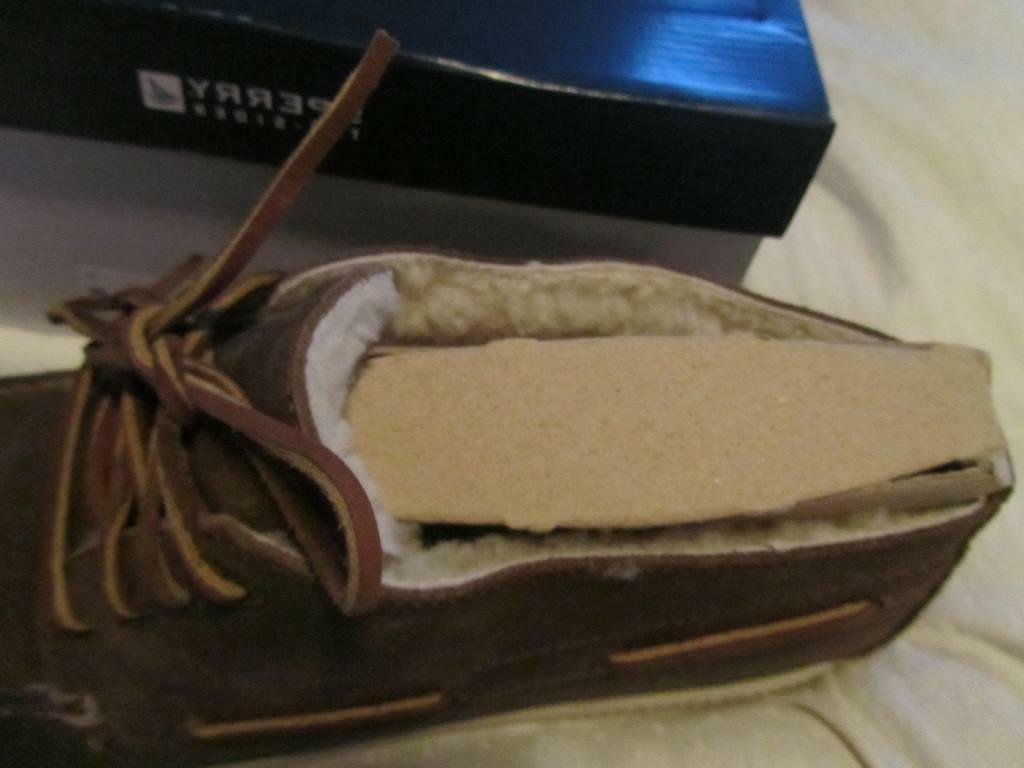 Sperry Winter Chukka Brown Lined Boots Shoes 13