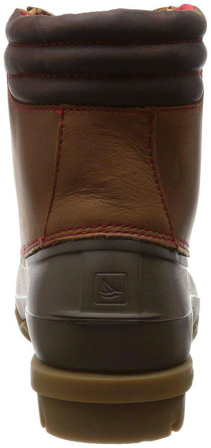 Sperry Top-Sider Mens Duck Boot Tan/Brown 12M Leather