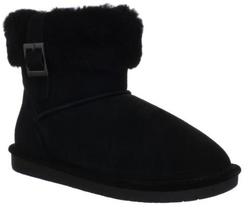 abby black hightop suede boot