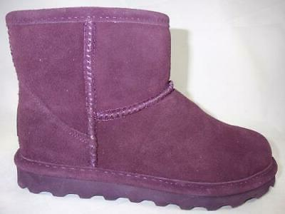 alyssa purple women s winter boots leather