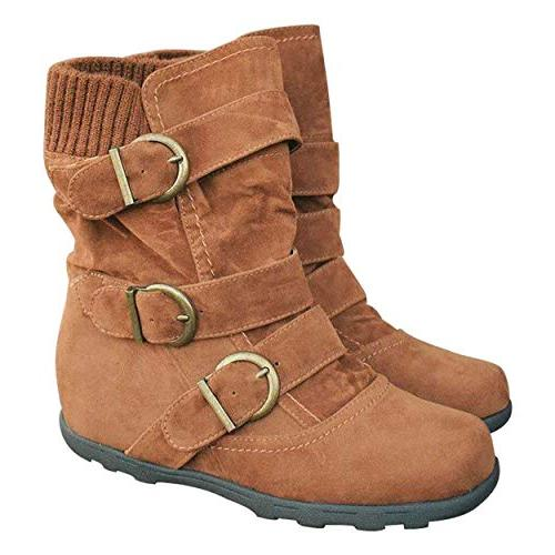ankle boots for women warm winter zip