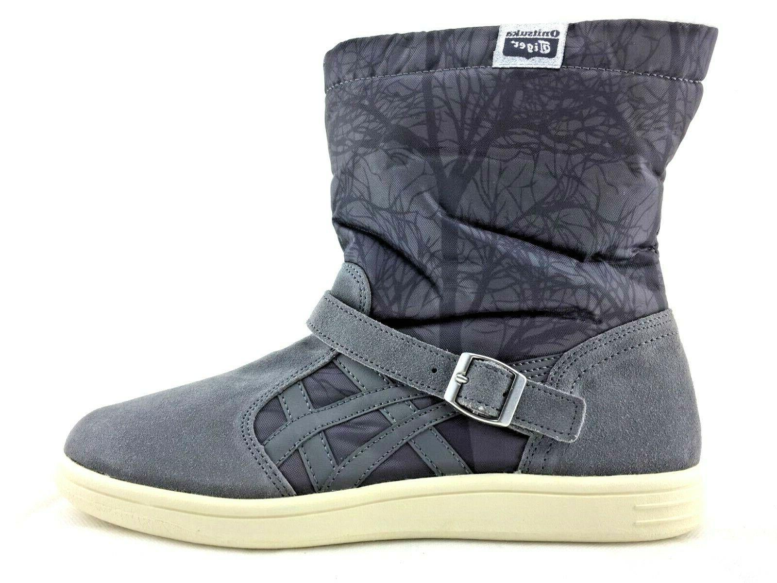 asics meriki winter boots ankle boots grey
