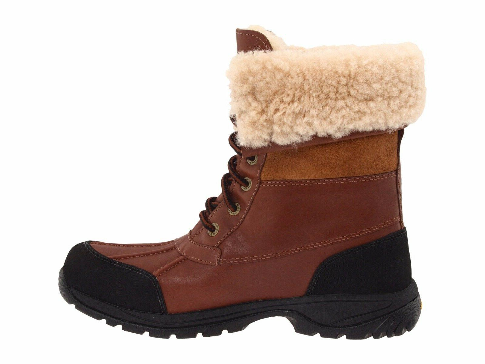 Authentic UGG Butte Winter Waterproof Leather Ski Snow Shoes
