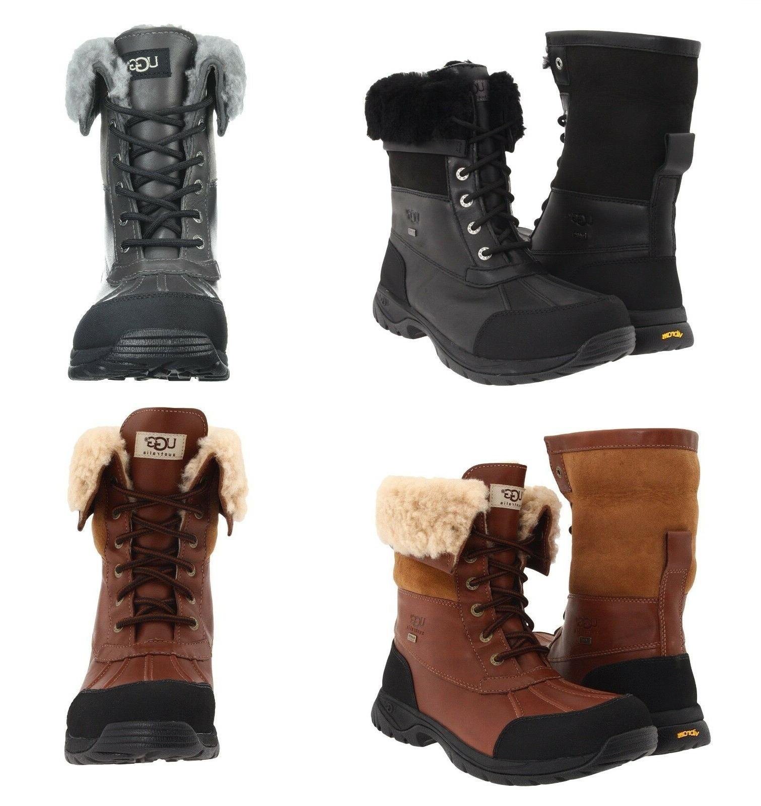 authentic mens butte winter boots waterproof leather