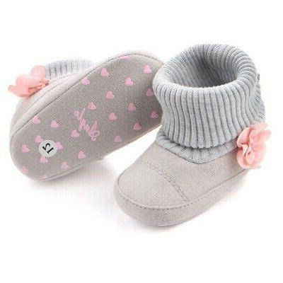 NewbornBaby Girl Warm Ankle Infant Toddler Snow Shoes