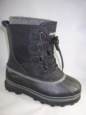 back country black snow boots men s