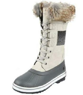 bishop gray women s size 7 insulated