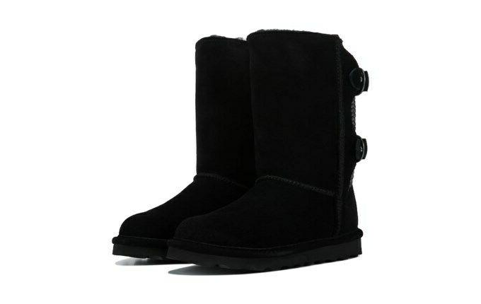 black clara water resistant winter boots size