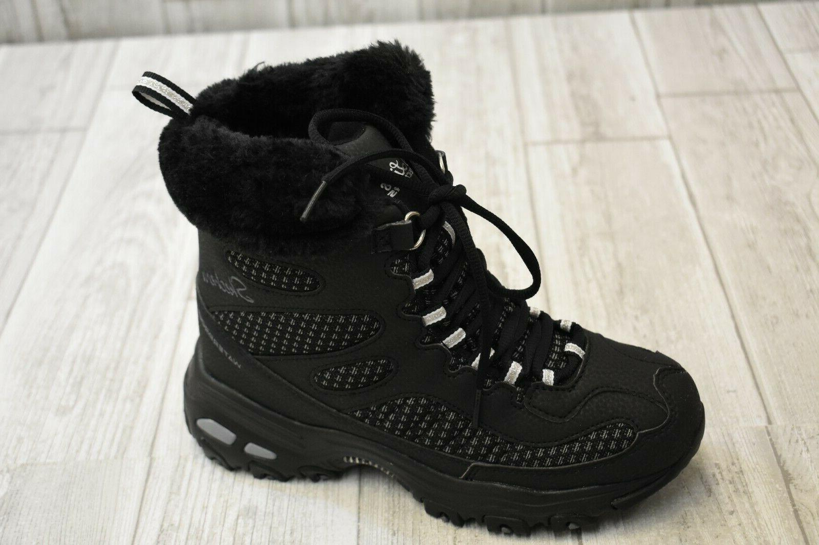 SKECHERS Plaza Boot Black NEW!