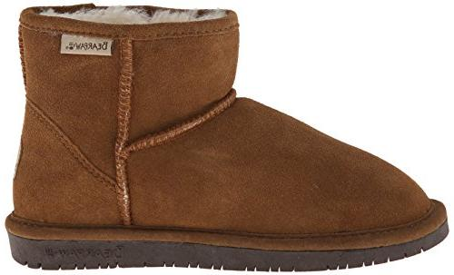 BEARPAW Women's Winter Boot, Hickory/Choco, US