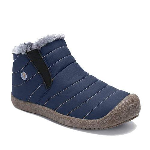 enly winter snow boots slip on water