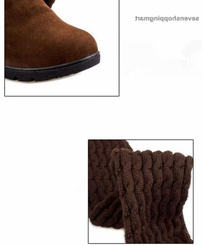 Fashion Over Knee Winter Boots