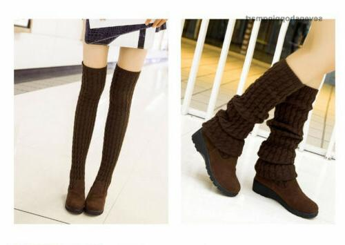 Fashion Over the Knee Boots Autumn Winter Boots Black