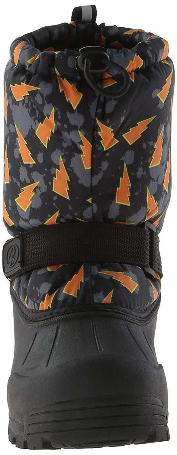 Northside FROSTY Black/Orange Snow Boots