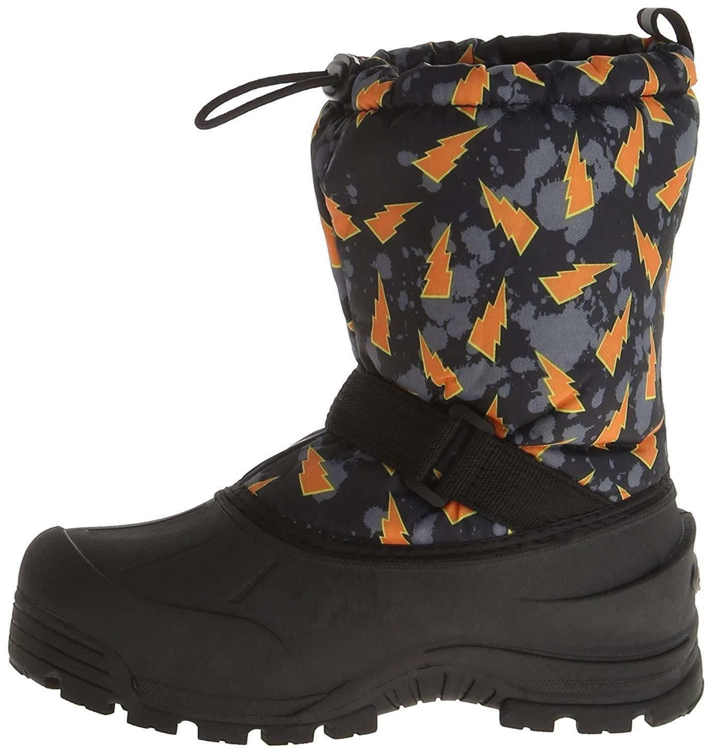 Black/Orange Insulated Winter Snow