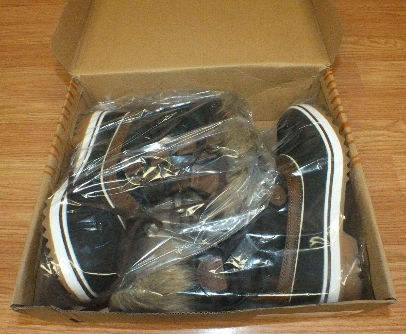 Genuine Global Brown Size Boots **NEW
