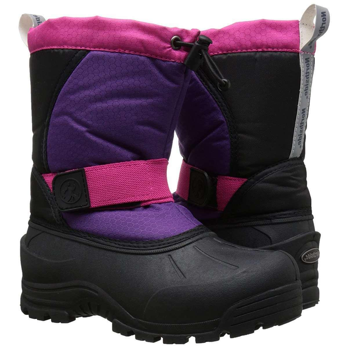 Girls Insulated Waterproof Northside Kids Winter Boots