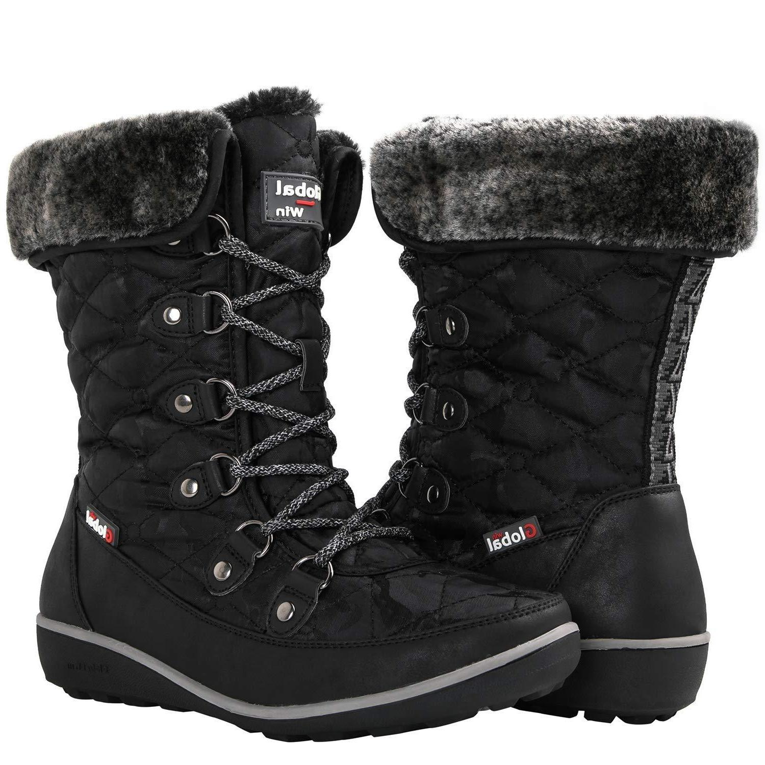 globalwin women s 1839 winter snow boots