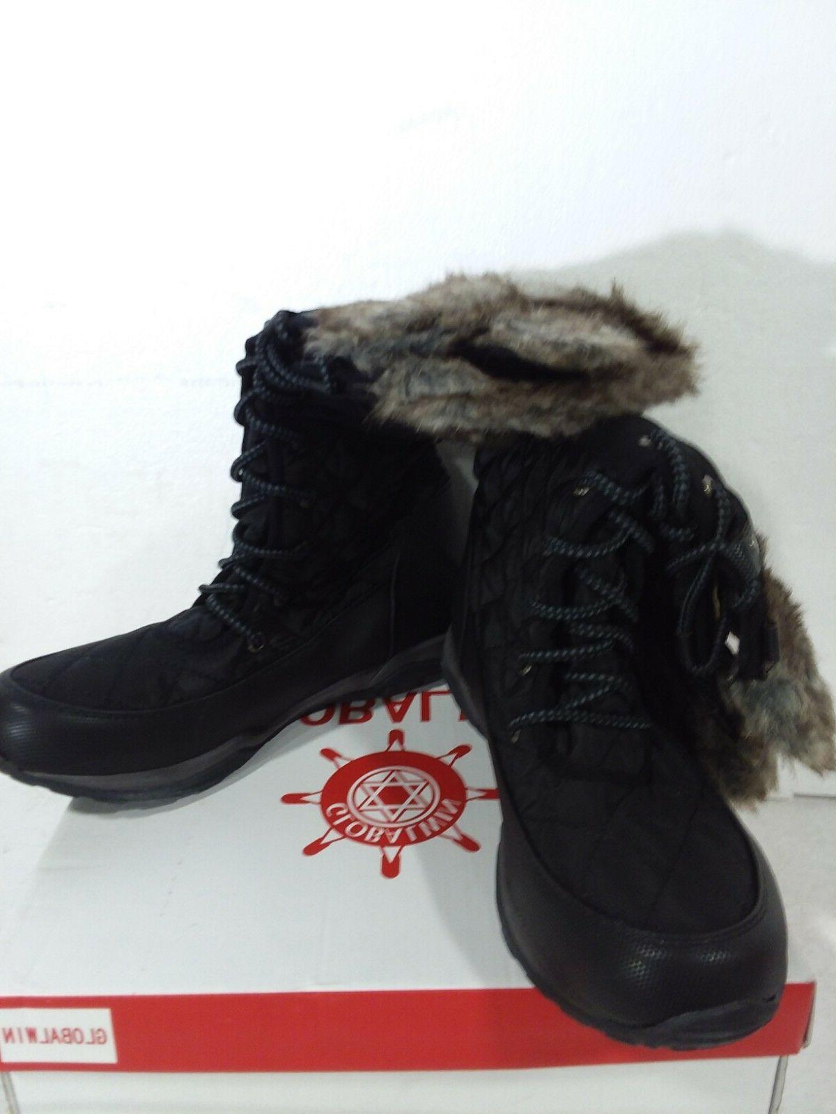 GLOBALWIN Fashion Snow Boots black 8
