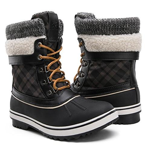 globalwin women s winter snow boots black