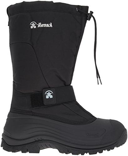 Kamik Cold Weather Boot,Black,10 US