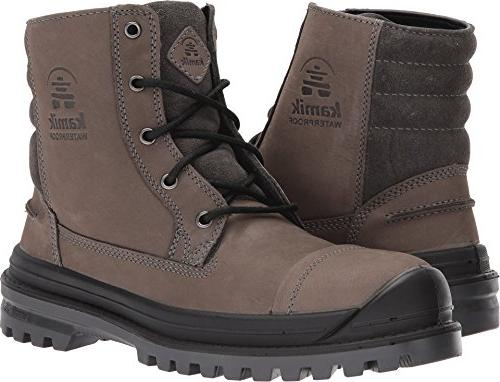 griffon snow boots charcoal 8