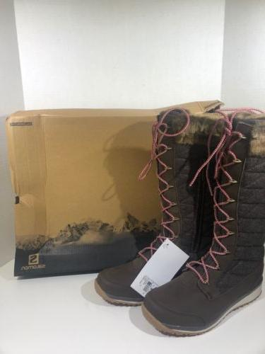 hime high womens sz 7 5 brown