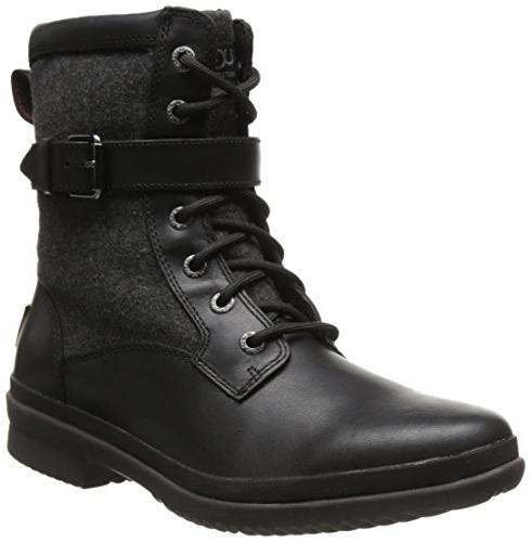 kesey black leather boot