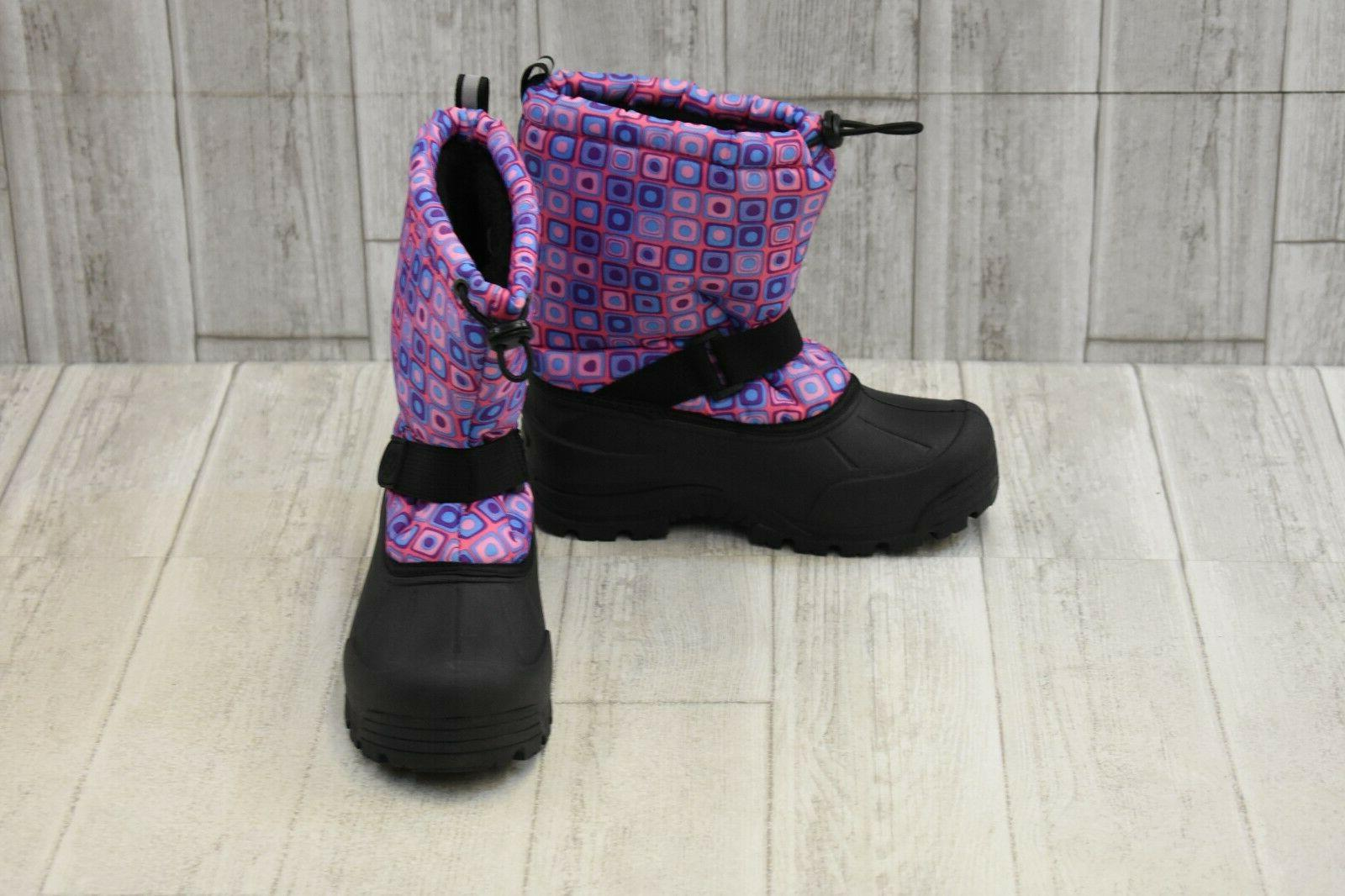 kids frosty insulated winter boots big girl