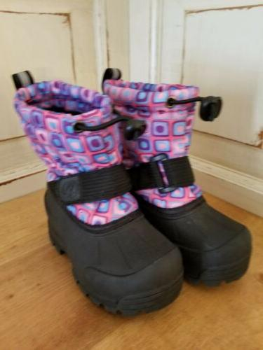 Kids Size 6 Boots Insulated Snow Boots -25F Warm NEW