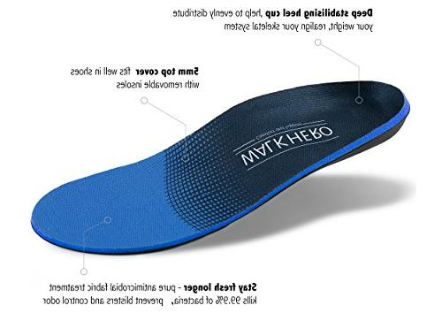 Medical Pain Relief Pronation Orthotics for Arch Shock-Absorbing,Deep 12-12 1/2
