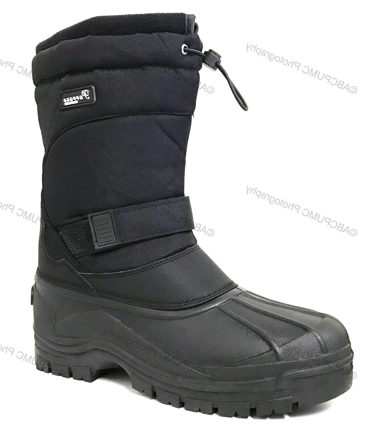 men s snow boots insulated waterproof rugged