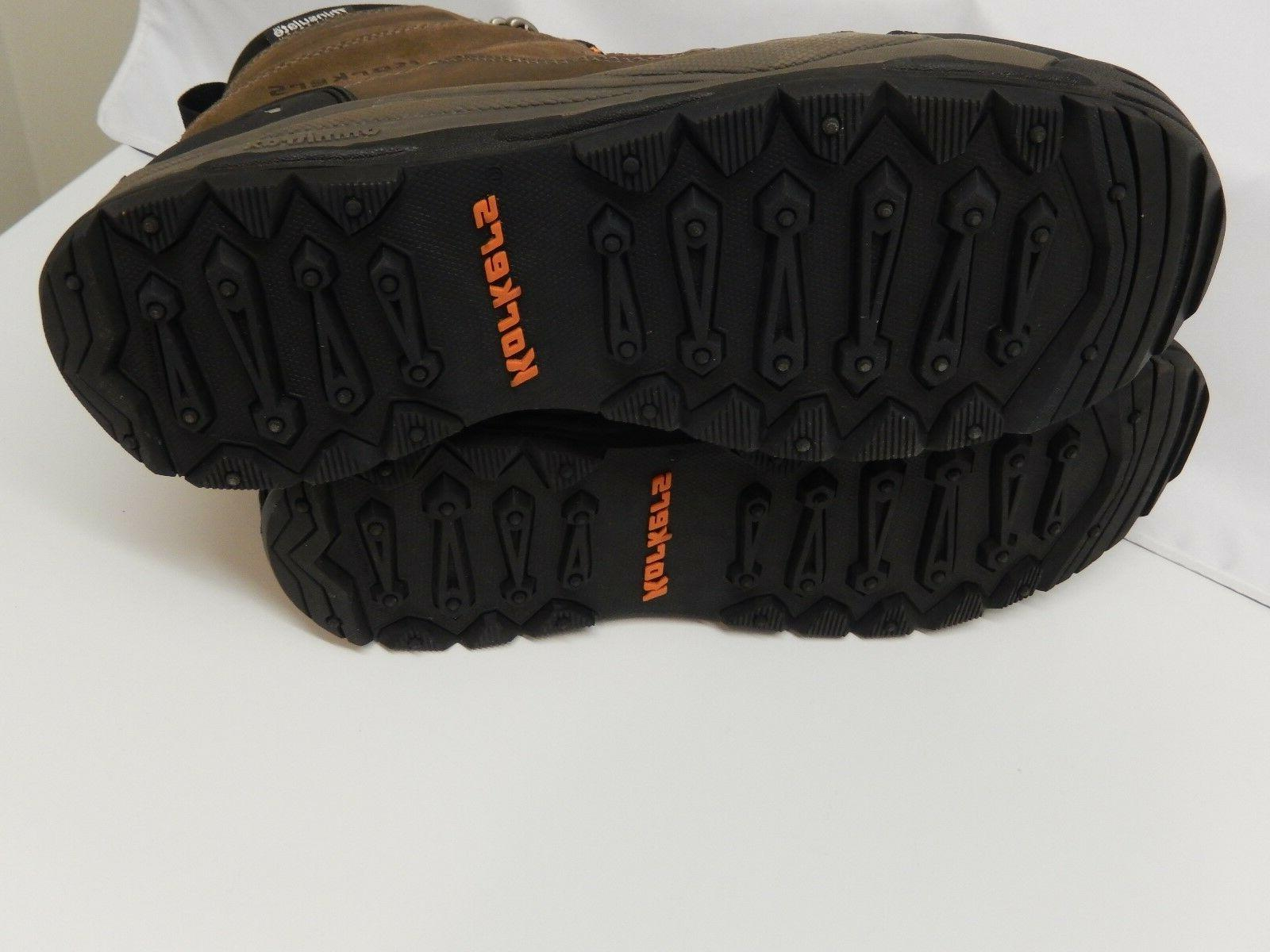 Men's Korkers Boots 12.5 with 12-1/2