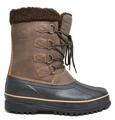 DREAM Terrain-2 Brown Waterproof Winter Snow Size 9 M