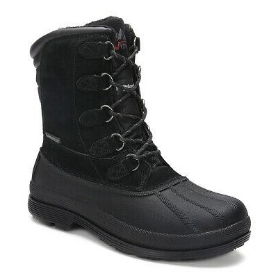 NORTIV Lace Up Warm Outdoor Work Boots
