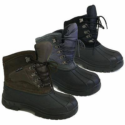 men s winter boots snow leather
