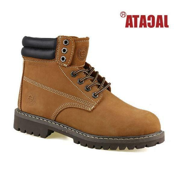 7dfd306acc9 Jacata Men's Winter Snow Work Boots Shoes 6