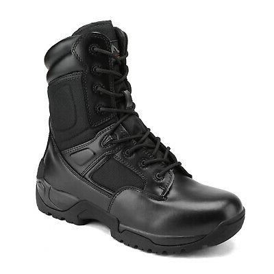 NORTIV 8 Military Boots Hiking Motorcycle